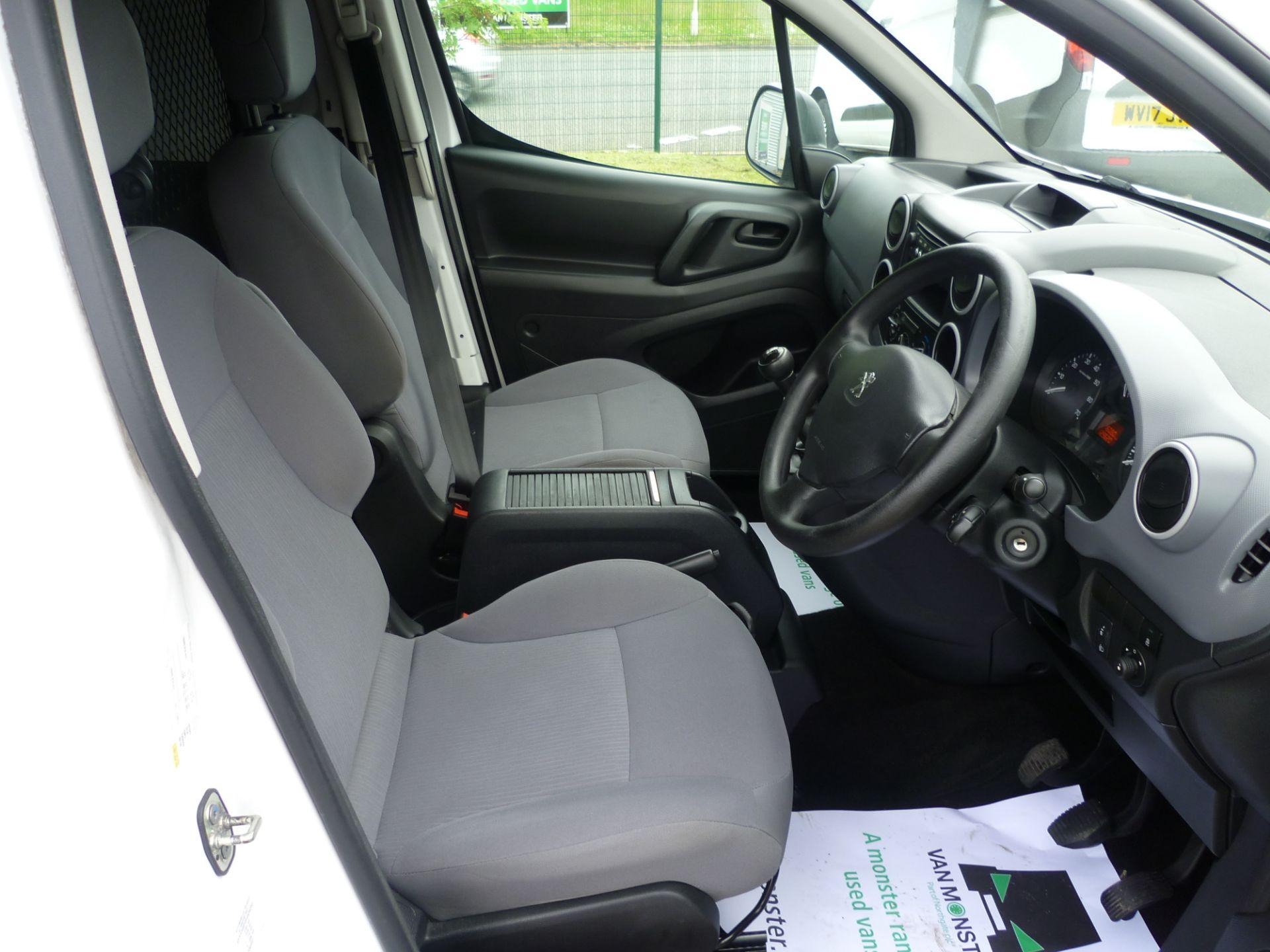 2016 Peugeot Partner L1 850 S 1.6HDI 92PS EURO 5 (NX16XXN) Image 18