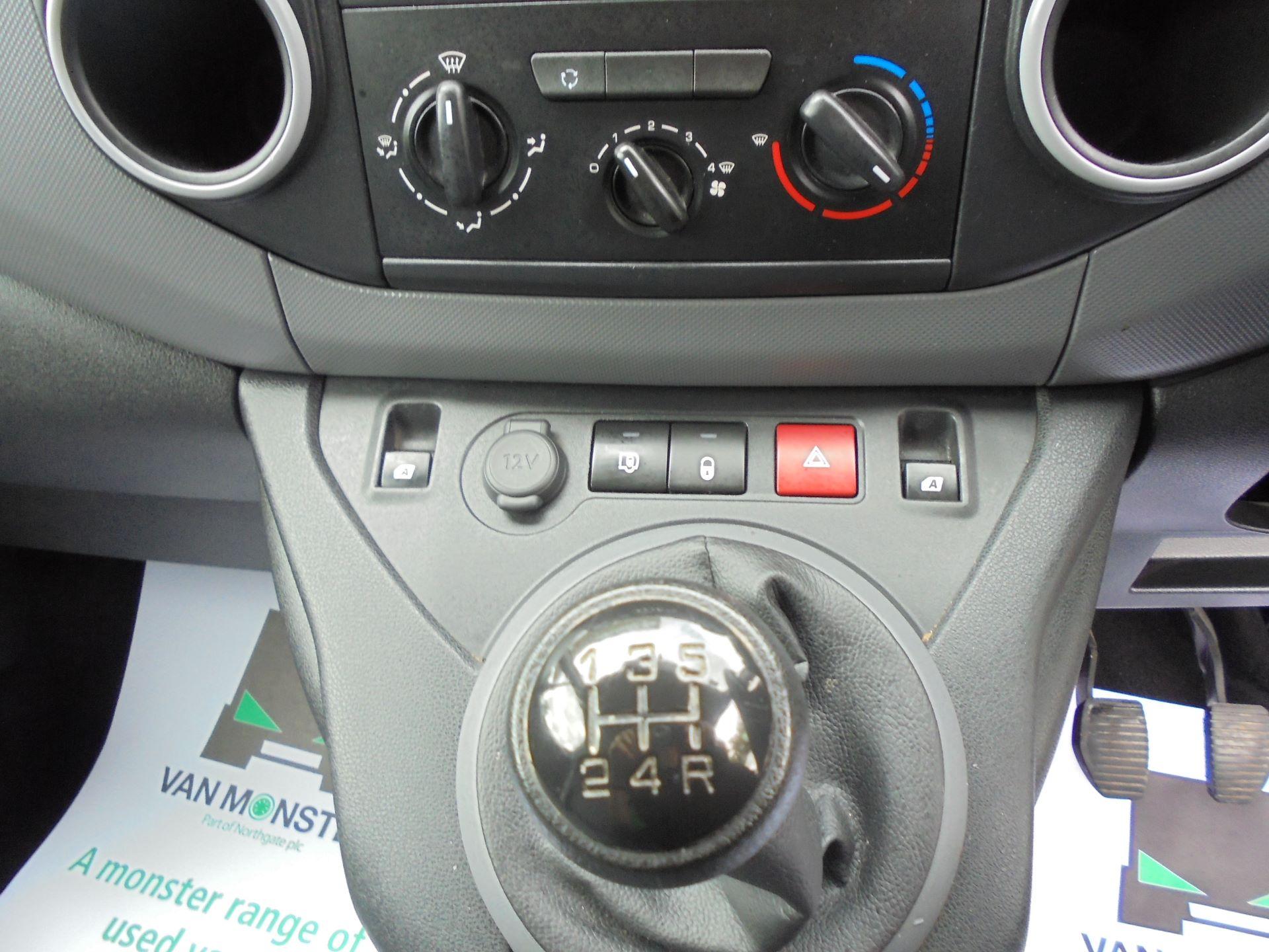 2016 Peugeot Partner L1 850 S 1.6 92PS (SLD) EURO 5 (NX16XYC) Image 11