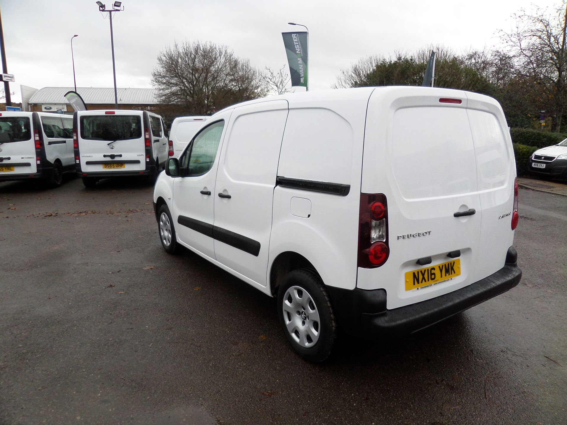 2016 Peugeot Partner 850 S 1.6 Hdi 92 Van [Sld] Euro 5 (NX16YMK) Image 6