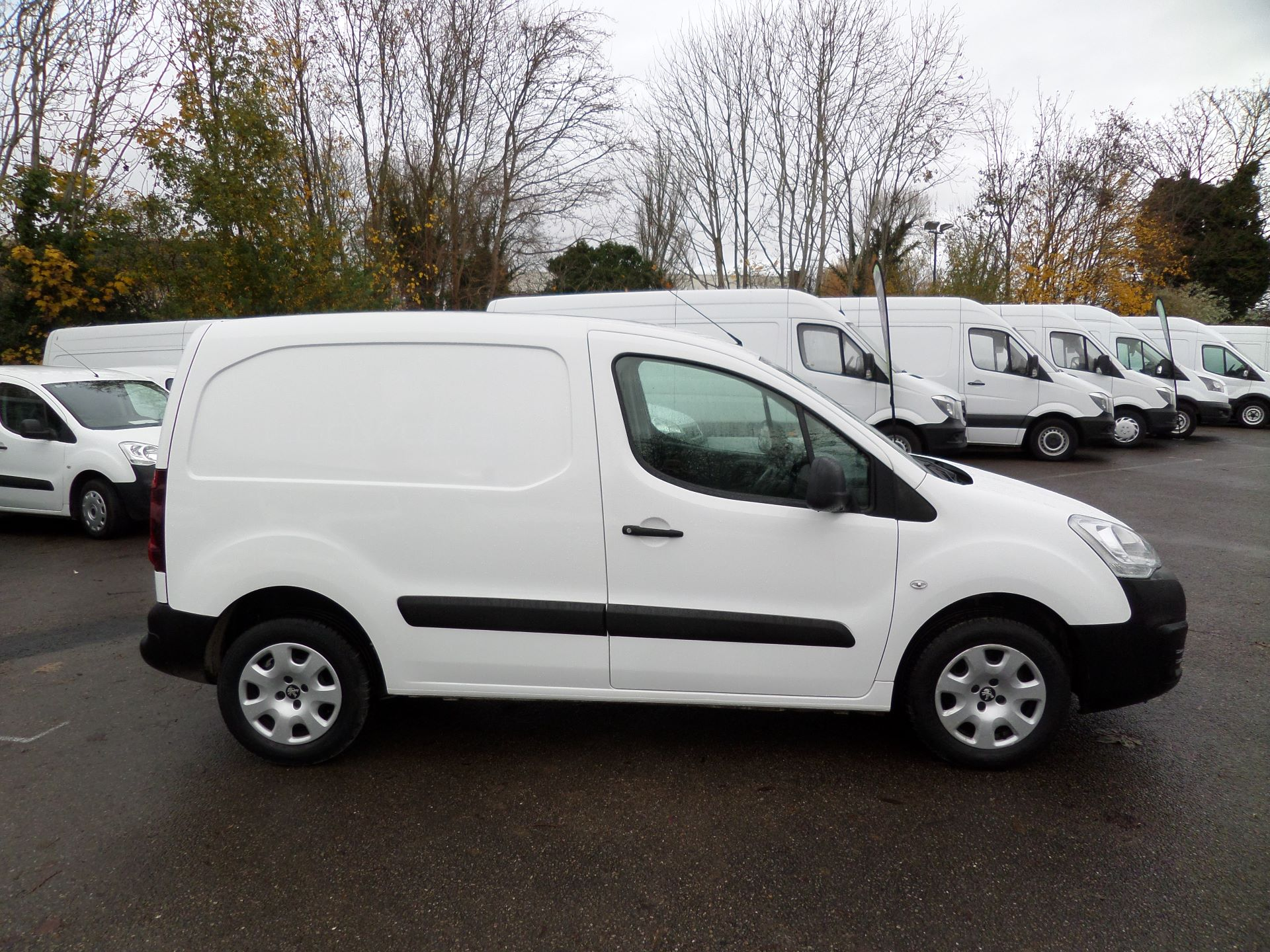 2016 Peugeot Partner 850 S 1.6 Hdi 92 Van [Sld] Euro 5 (NX16YMK) Image 2