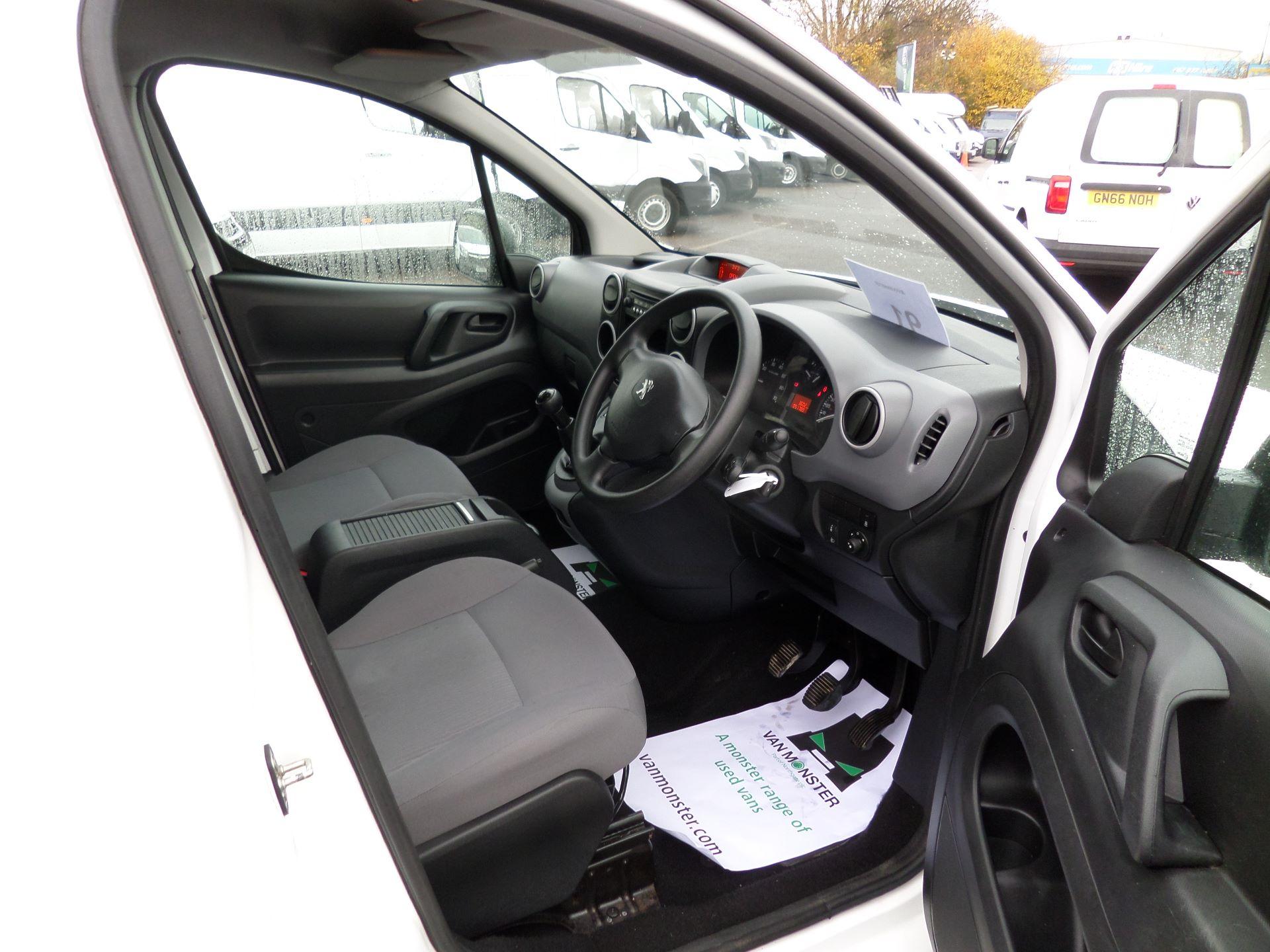 2016 Peugeot Partner 850 S 1.6 Hdi 92 Van [Sld] Euro 5 (NX16YMK) Image 11