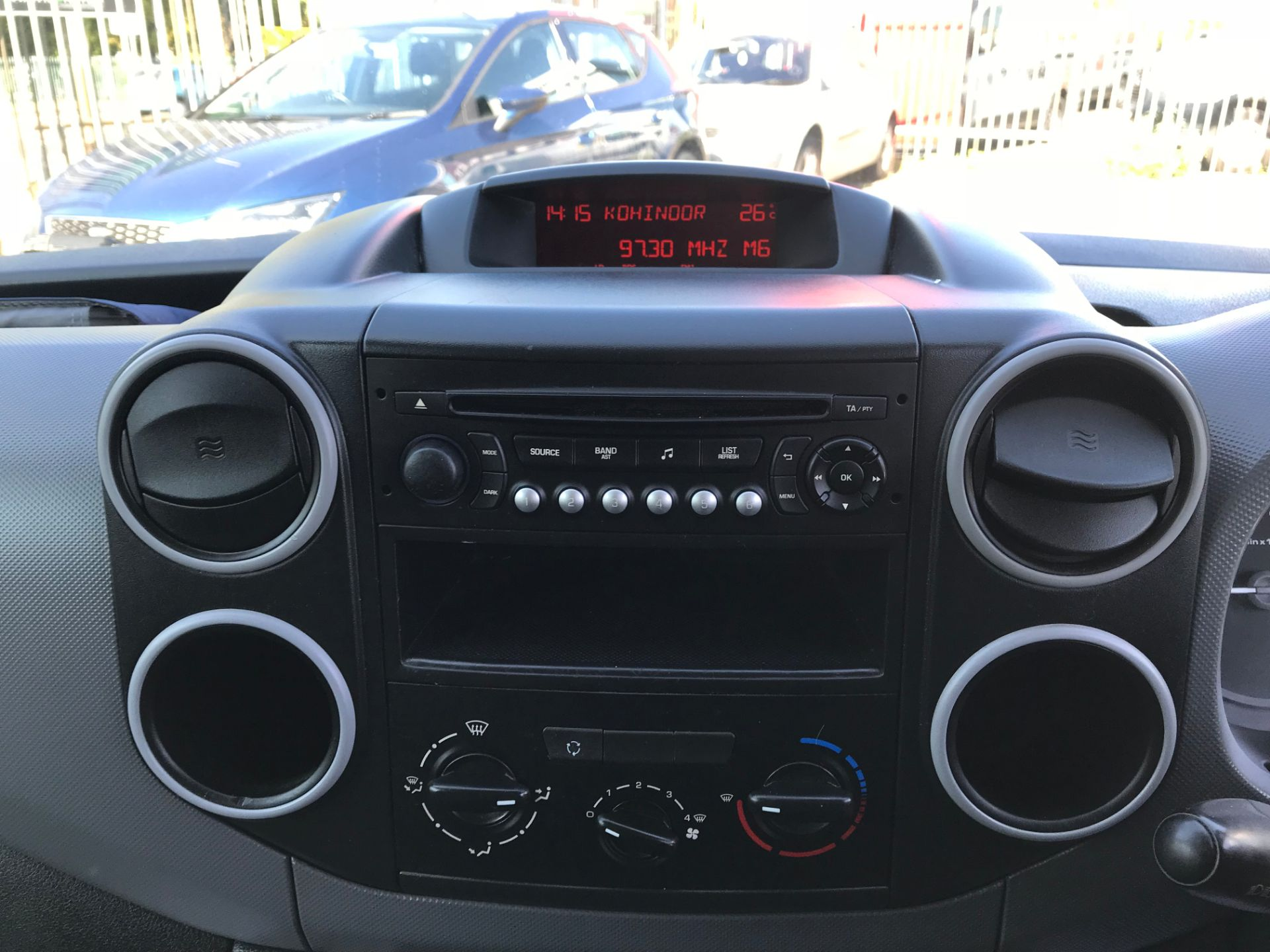 2016 Peugeot Partner L1 850 S 1.6 92PS [SLD] EURO 5 (NX16YMP) Image 14