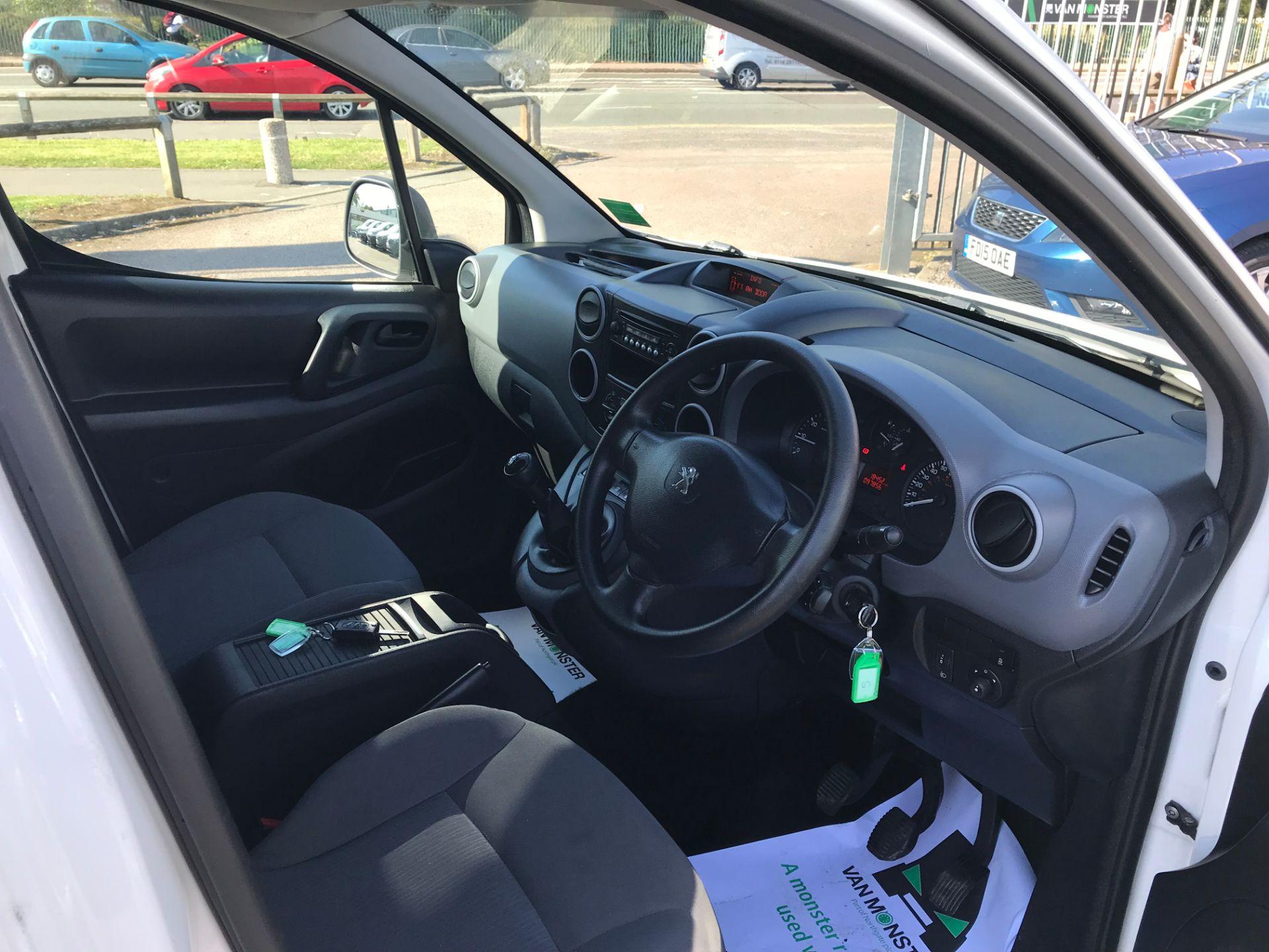 2016 Peugeot Partner L1 850 S 1.6 92PS [SLD] EURO 5 (NX16YMP) Image 11
