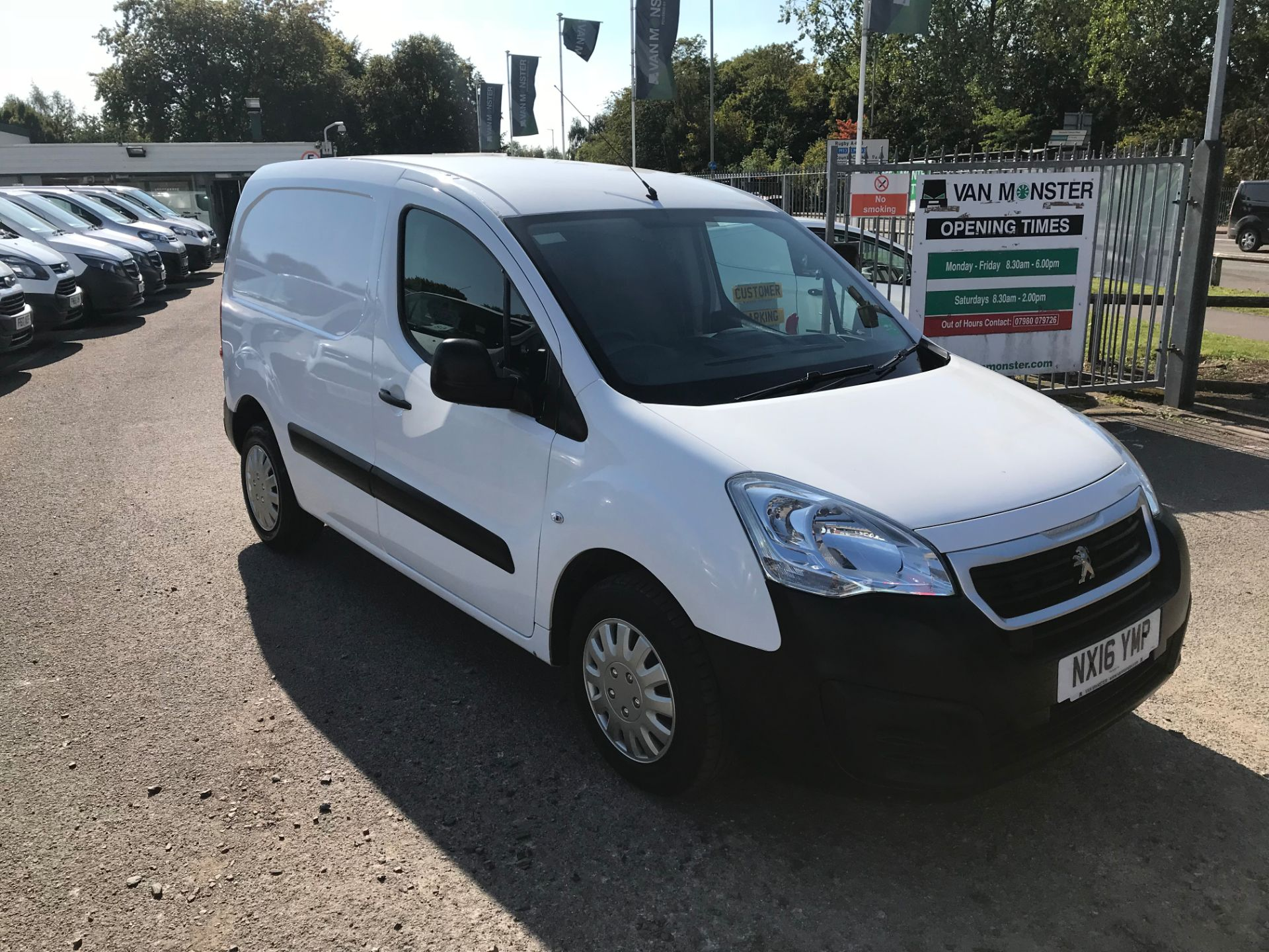 2016 Peugeot Partner L1 850 S 1.6 92PS [SLD] EURO 5 (NX16YMP)
