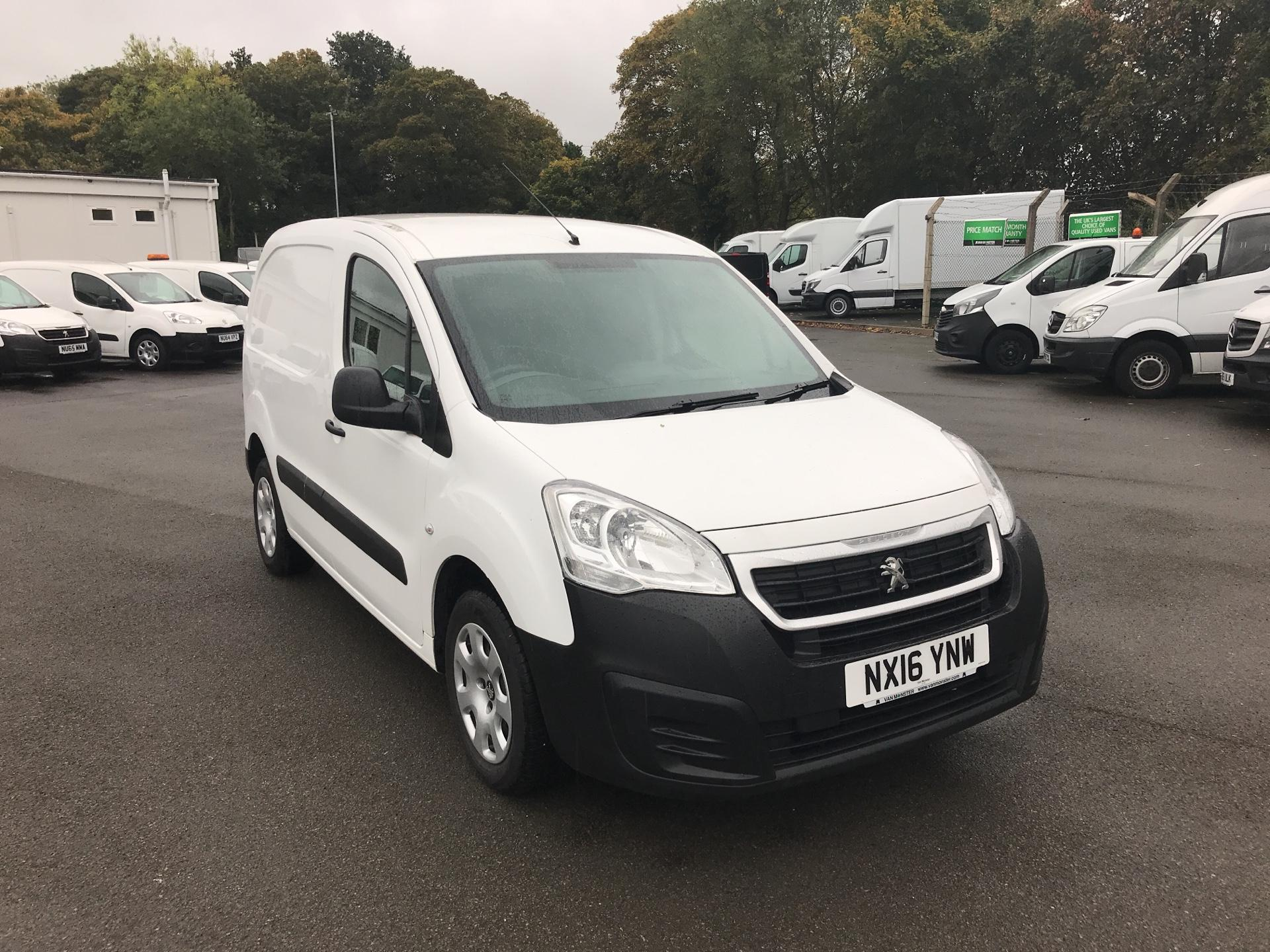 2016 Peugeot Partner  1.3 HDI 75 NON S/S  EURO 5 *VALUE RANGE VEHICLE - CONDITION REFLECTED IN PRICE* (NX16YNW)