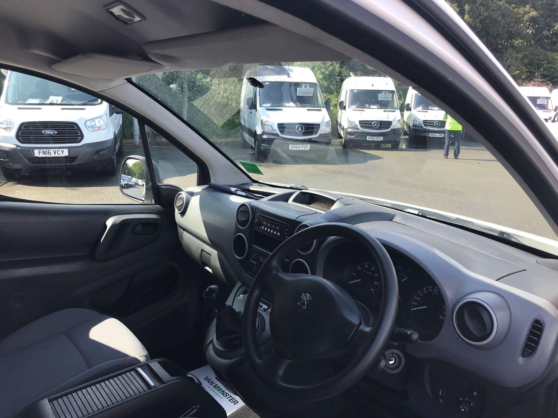2016 Peugeot Partner L1 850 S 1.6 92PS [SLD] EURO 5 (NX16YOK) Image 18