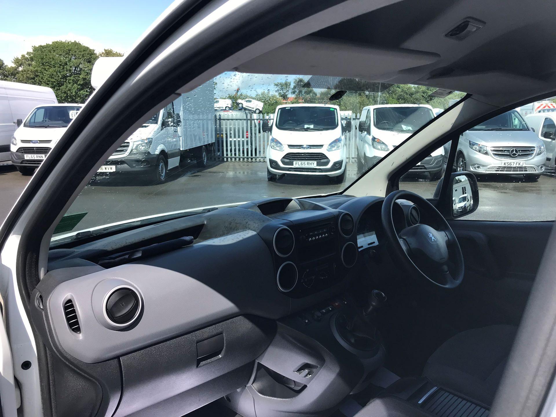 2016 Peugeot Partner L1 850 S 1.6 92PS [SLD] EURO 5 (NX16YOK) Image 17