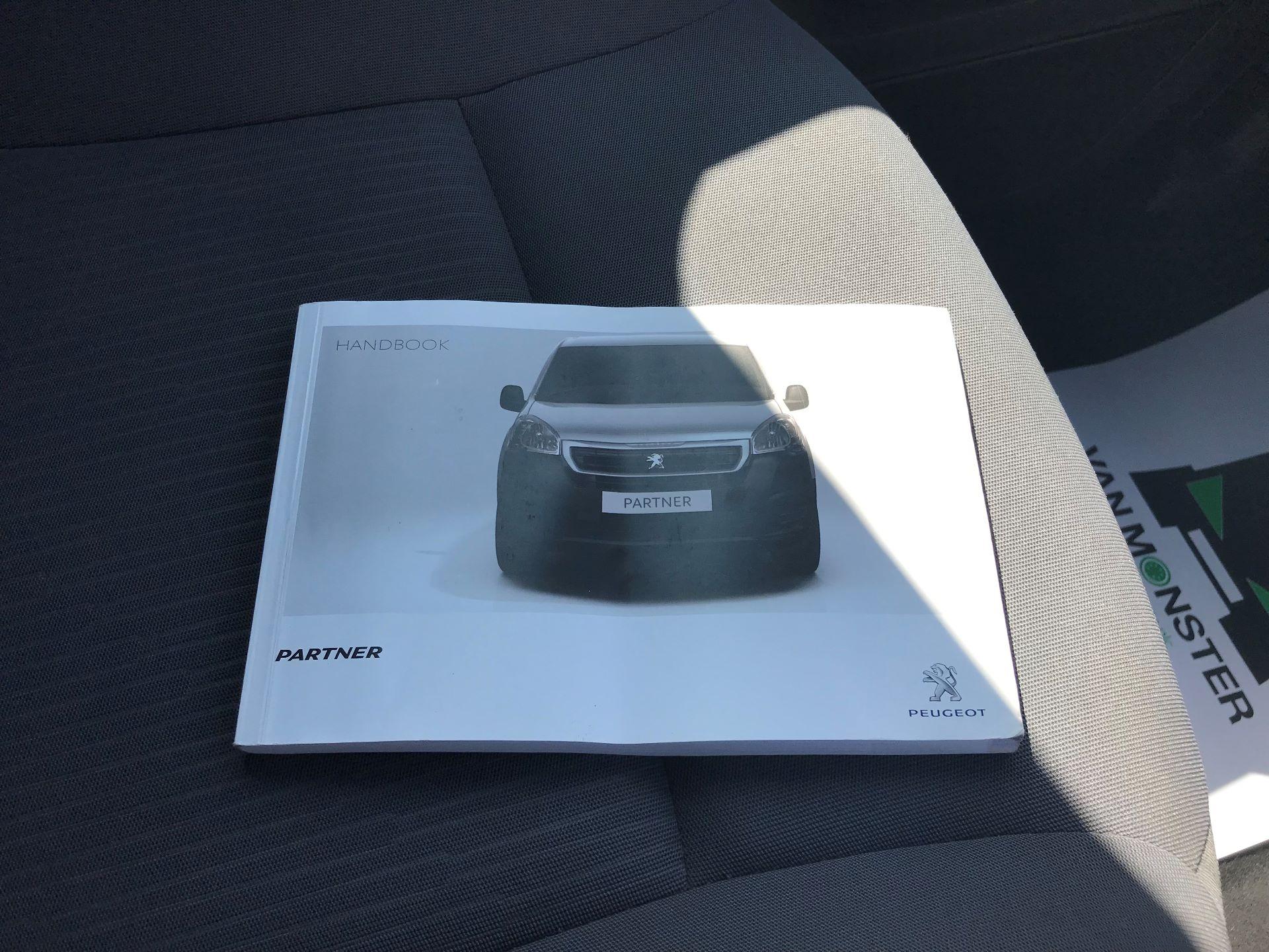 2016 Peugeot Partner L1 850 S 1.6 92PS [SLD] EURO 5 (NX16YOK) Image 25