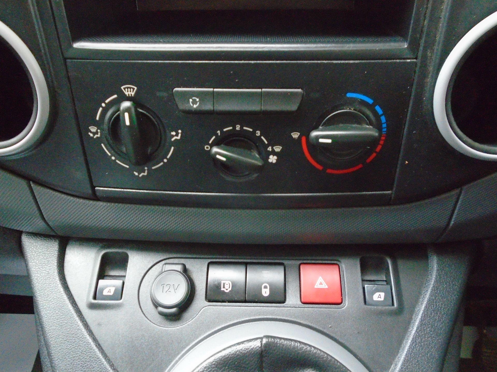 2016 Peugeot Partner 850 S 1.6 Hdi 92 Van [Sld(EURO5) (NX16YPM) Image 24