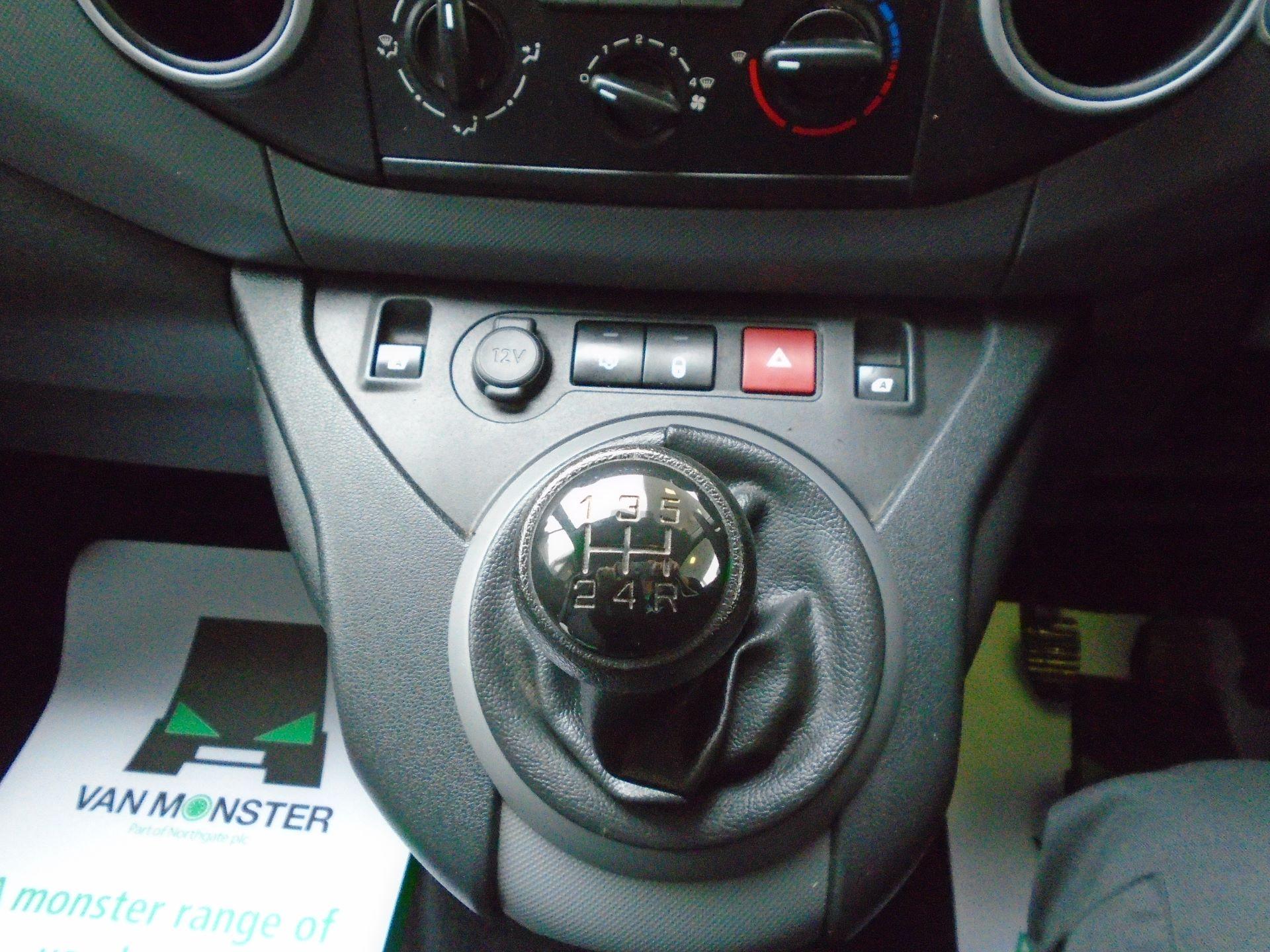2016 Peugeot Partner 850 S 1.6 Hdi 92 Van [Sld(EURO5) (NX16YPM) Image 25