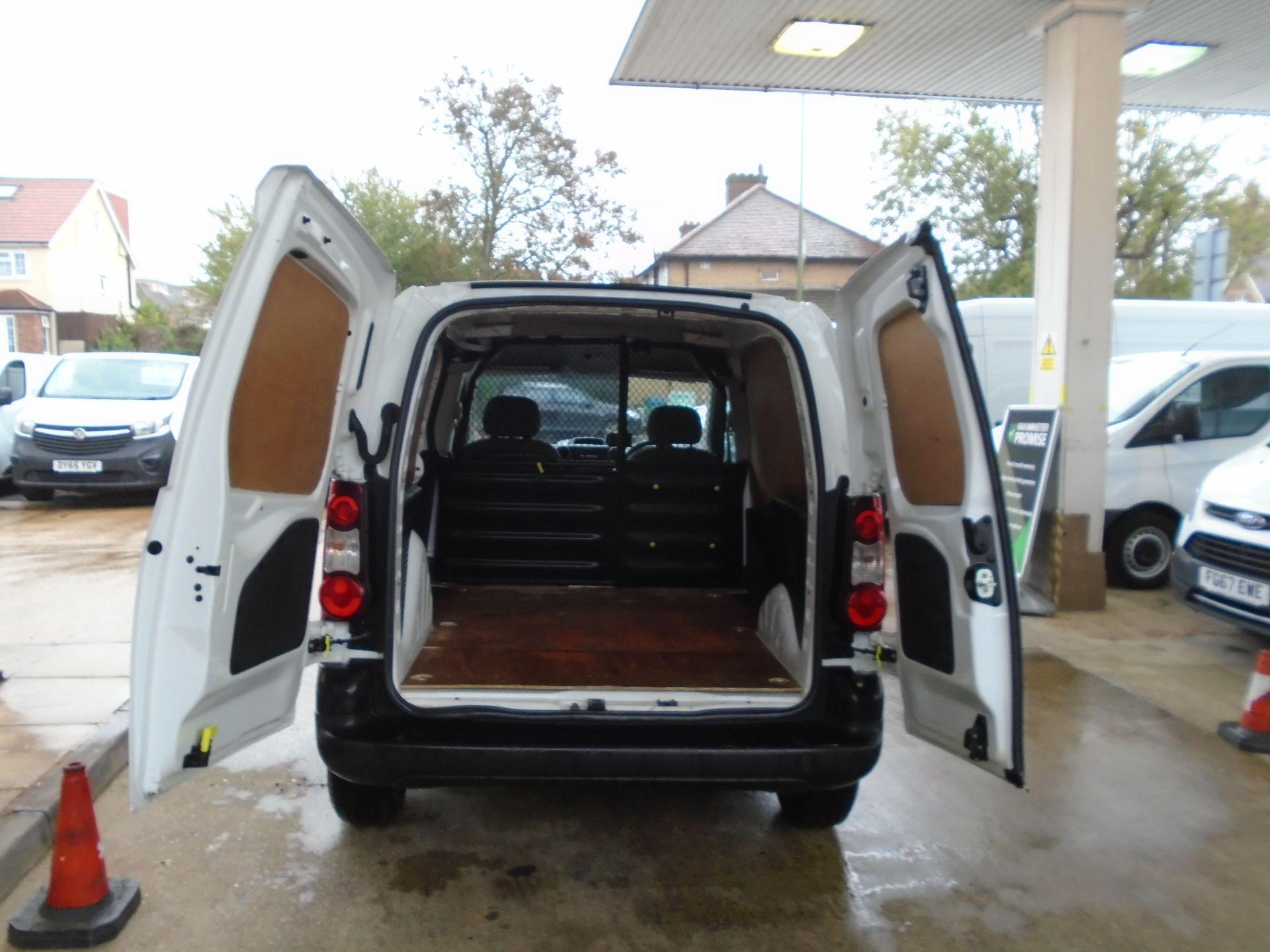 2016 Peugeot Partner 850 S 1.6 Hdi 92 Van [Sld(EURO5) (NX16YPM) Image 7