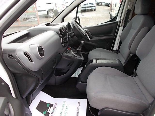 2016 Peugeot Partner L1 850 S 1.6 92PS [SLD] EURO 5 (NX16YRJ) Image 13