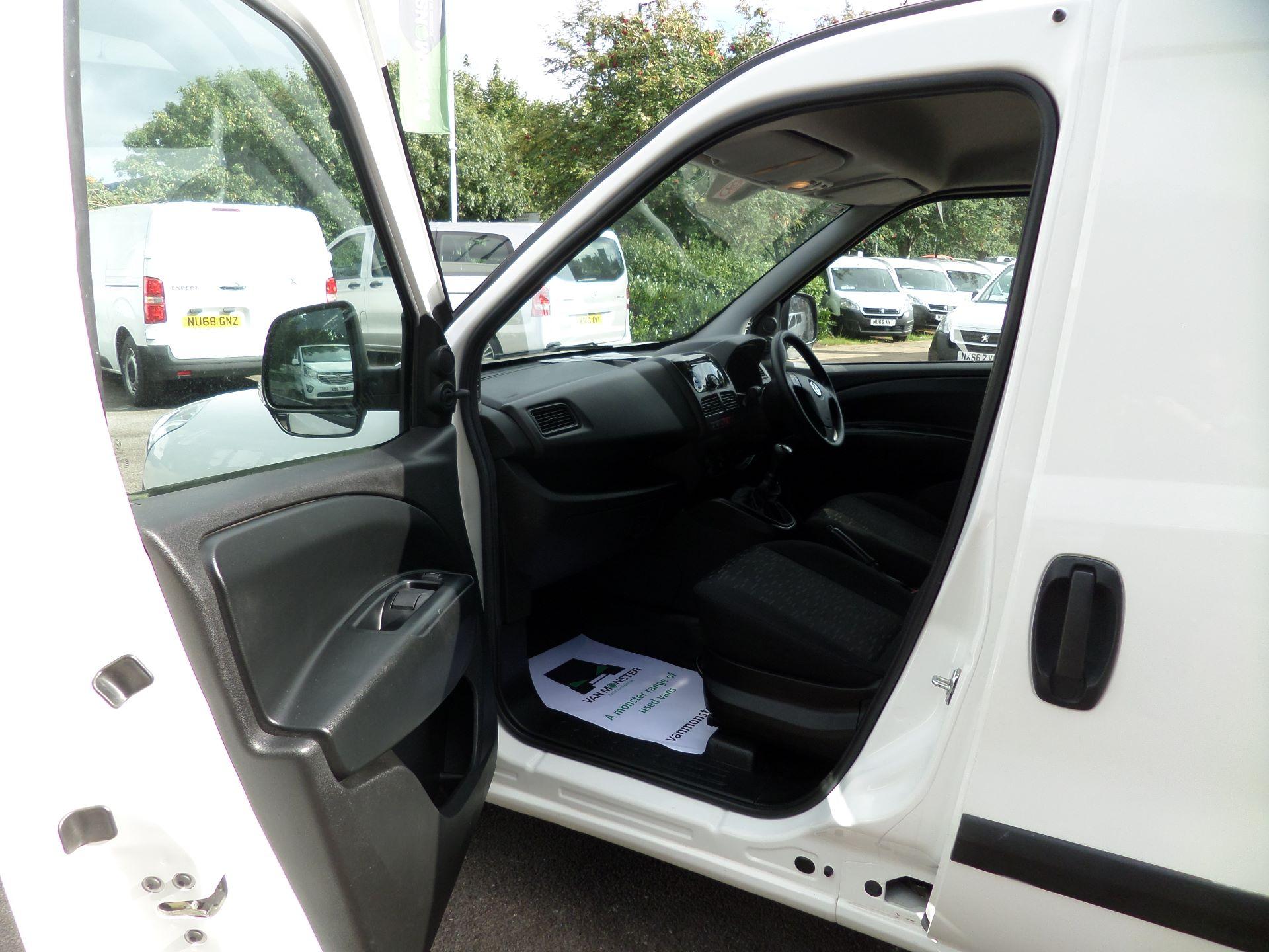 2016 Peugeot Partner 850 S 1.6 Hdi 92 Van [Sld] Euro 5 (NX16YRV) Image 8