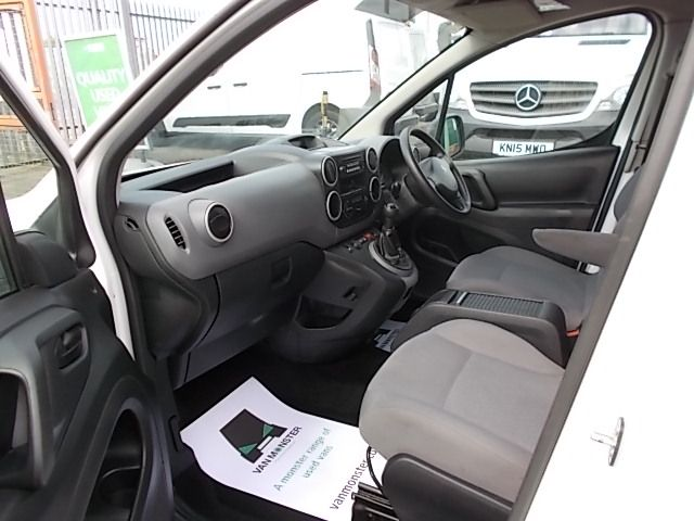 2016 Peugeot Partner L1 850 S 1.6 92PS [SLD] EURO 5 (NX16YSB) Image 12