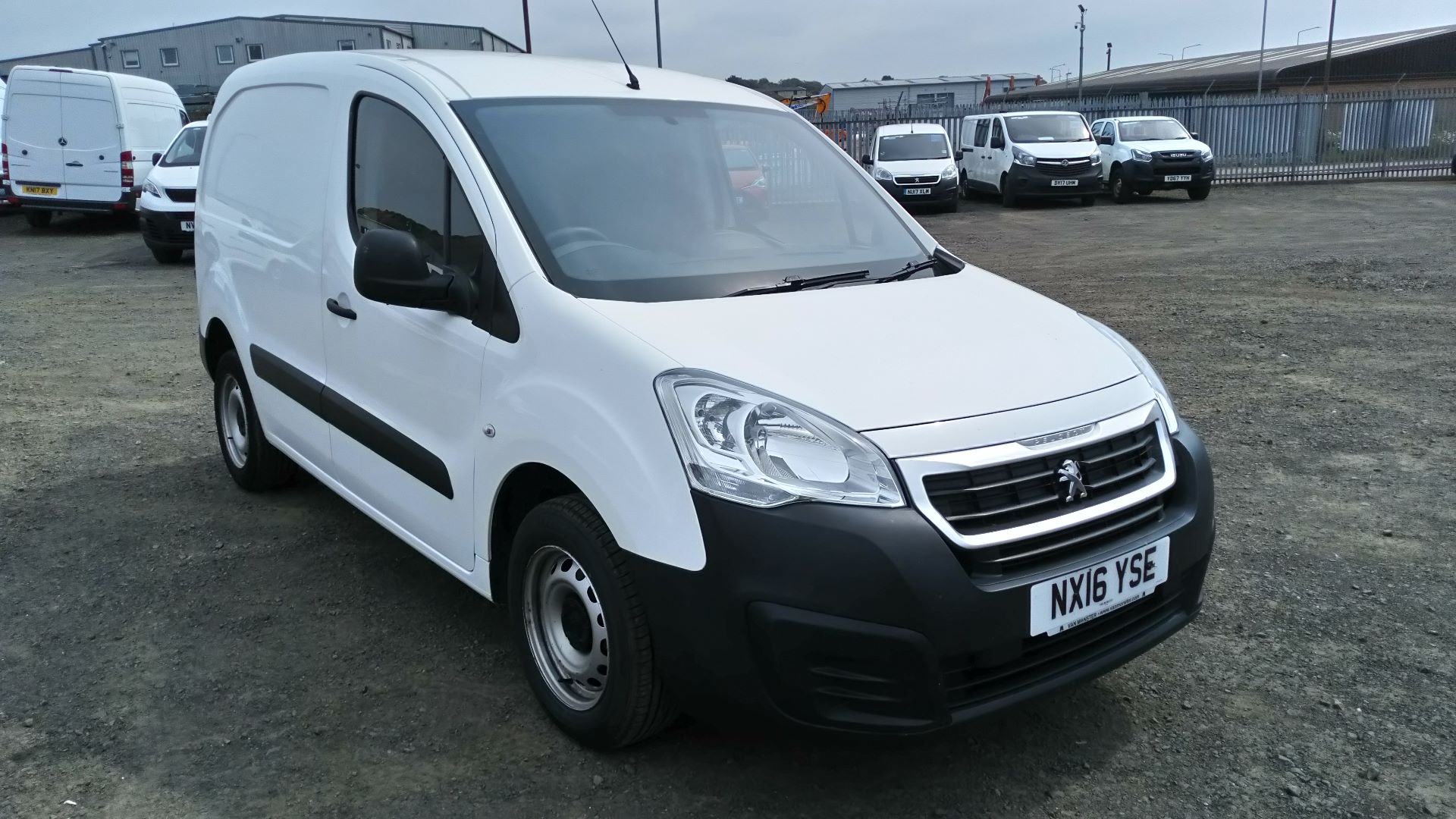 2016 Peugeot Partner 850 S 1.6 Hdi 92 Van [Sld] Speed Limited 56MPH (NX16YSE)