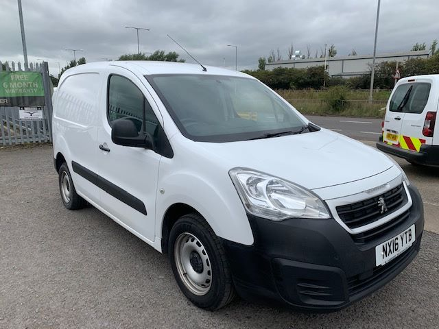 2016 Peugeot Partner L1 850 S 1.6 92PS (SLD) EURO 5 (NX16YTB)