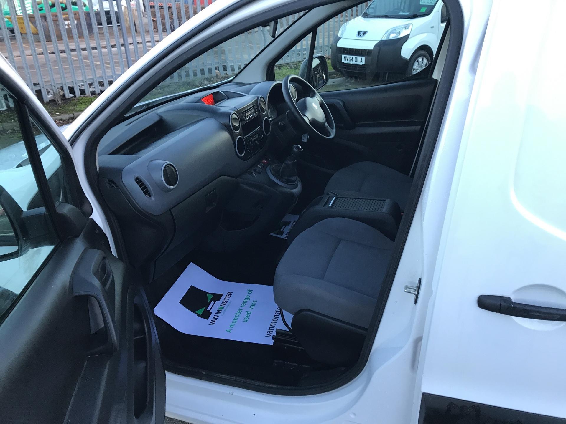 2016 Peugeot Partner L2 715 S 1.6 92PS CREW VAN EURO 5 (NX16YTS) Image 15