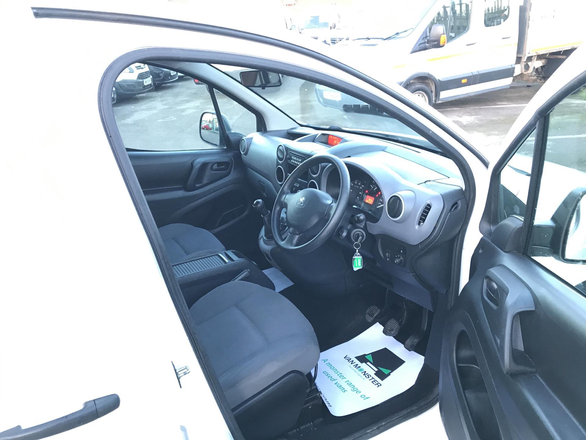 2016 Peugeot Partner L2 715 S 1.6 92PS CREW VAN EURO 5 (NX16YTS) Image 9