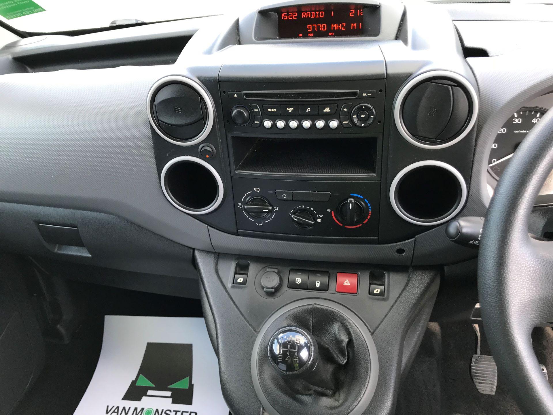 2016 Peugeot Partner L1 850 S 1.6 92PS [SLD] EURO 5 (NX16YUL) Image 26