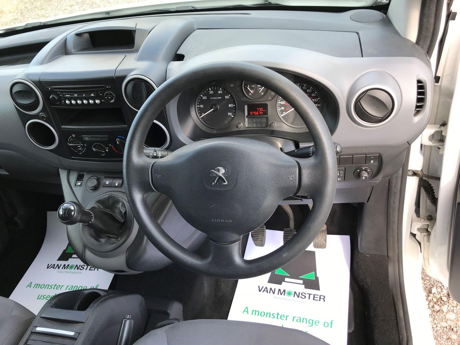 2016 Peugeot Partner L1 850 S 1.6 92PS [SLD] EURO 5 (NX16YUL) Image 24