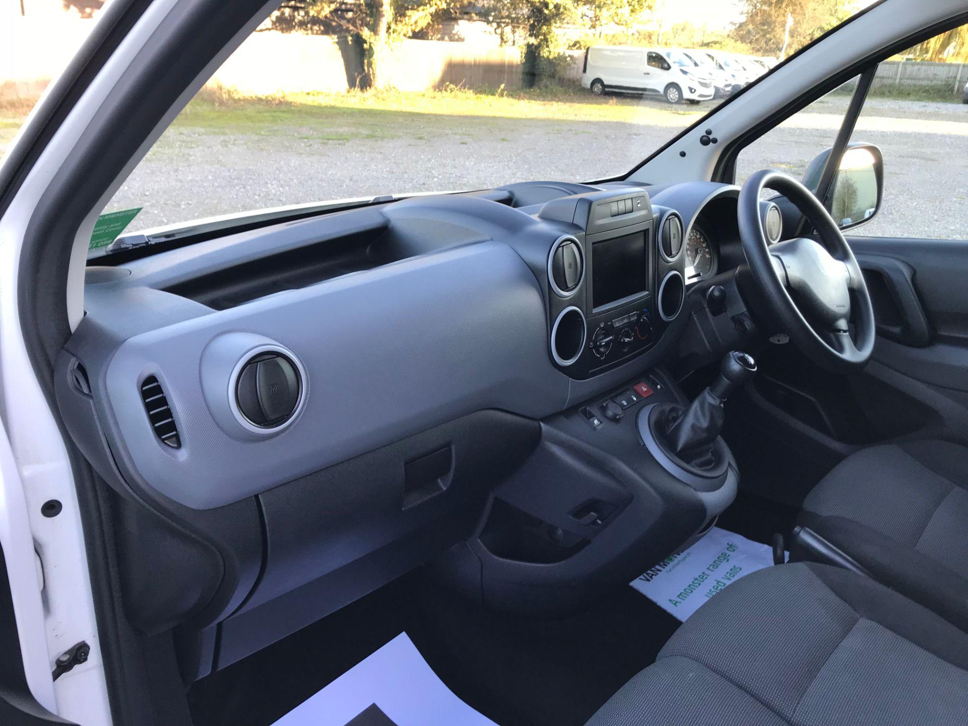 2017 Peugeot Partner 850 1.6 Bluehdi 100 Professional Van [Non Ss] (NX17HVT) Image 15