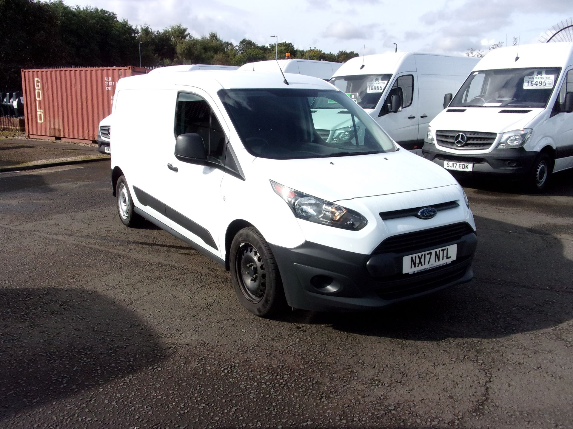 2017 Ford Transit Connect 210 L2 DIESEL 1.5 TDCI 75PS EURO 5 (NX17NTL)