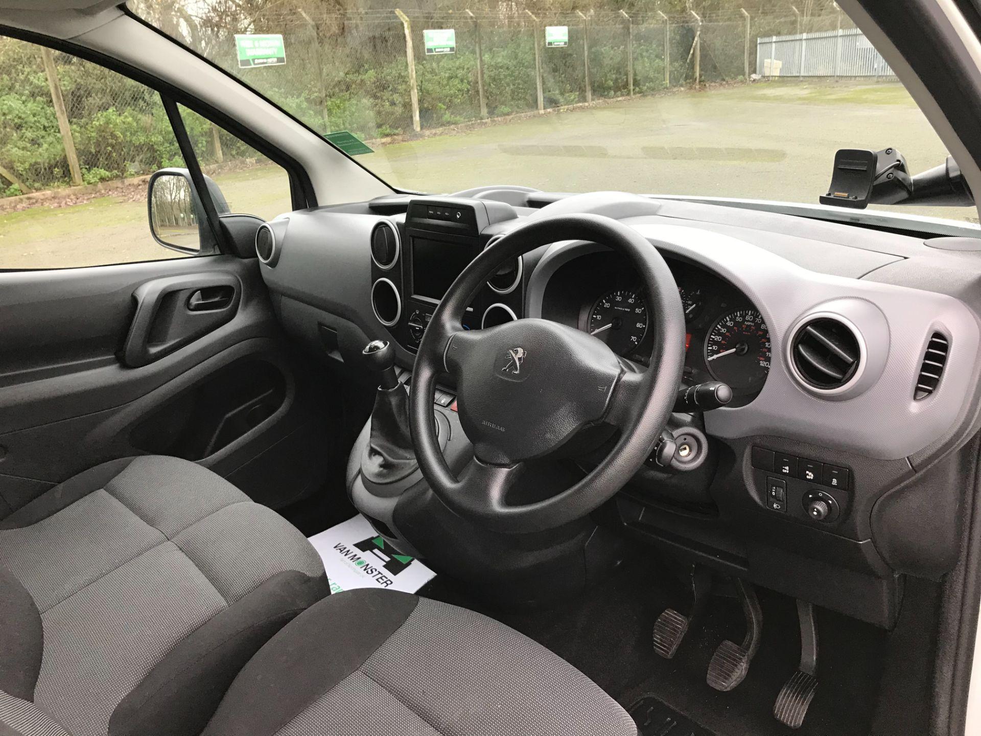 2017 Peugeot Partner L1 850 1.6 BLUEHDI 100 PROFESSIONAL (NON S/S)EURO 6 (NX17TLV) Image 16
