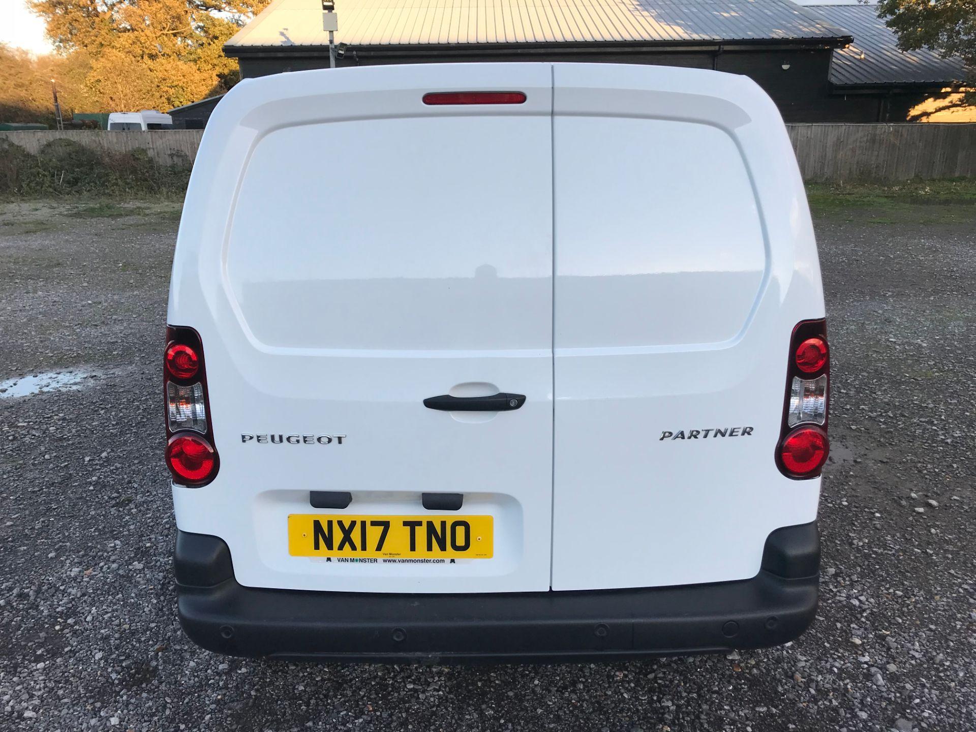2017 Peugeot Partner 850 1.6 Bluehdi 100 Professional Van [Non Ss] (NX17TNO) Image 5