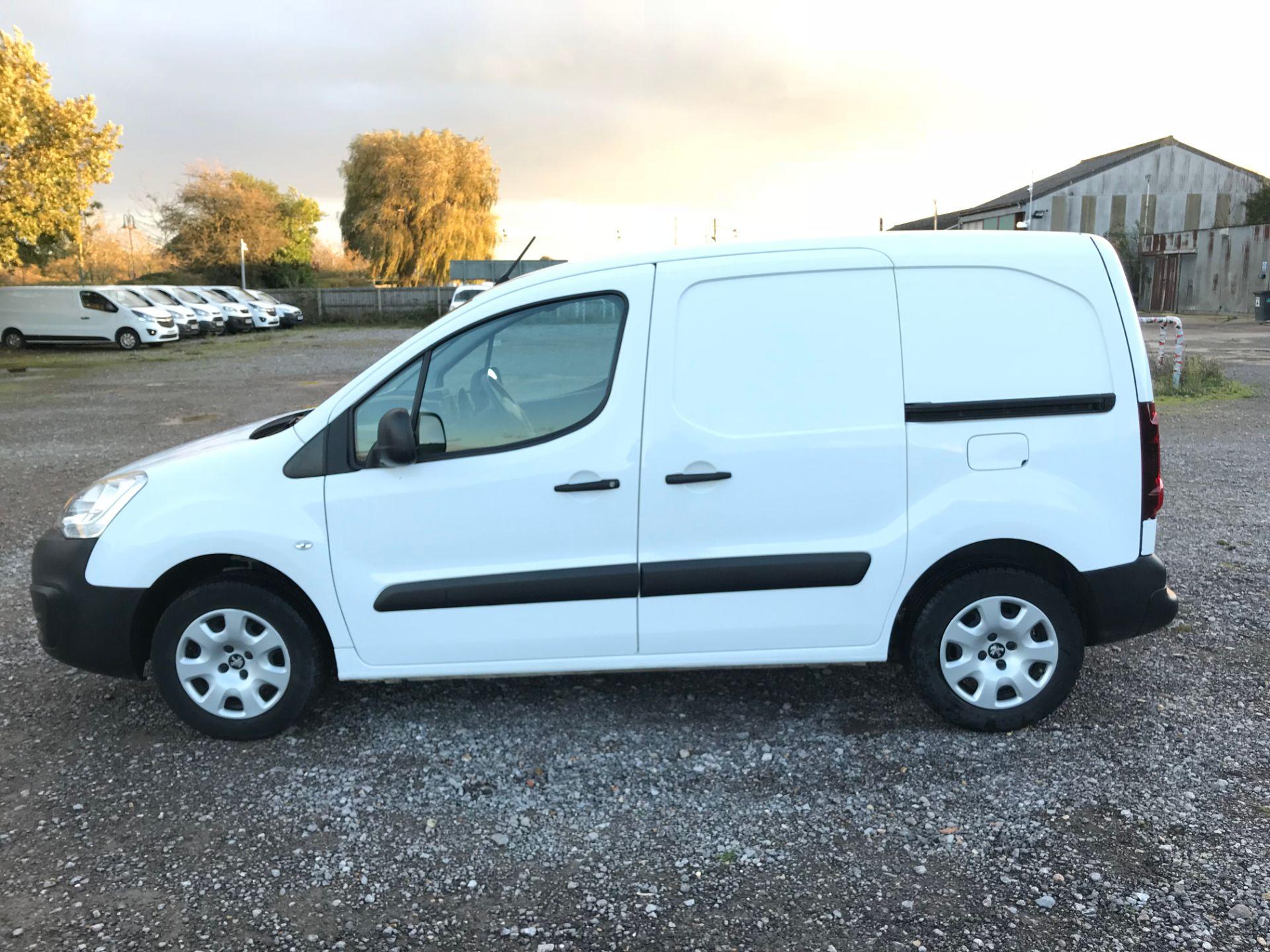 2017 Peugeot Partner 850 1.6 Bluehdi 100 Professional Van [Non Ss] (NX17TNO) Image 7