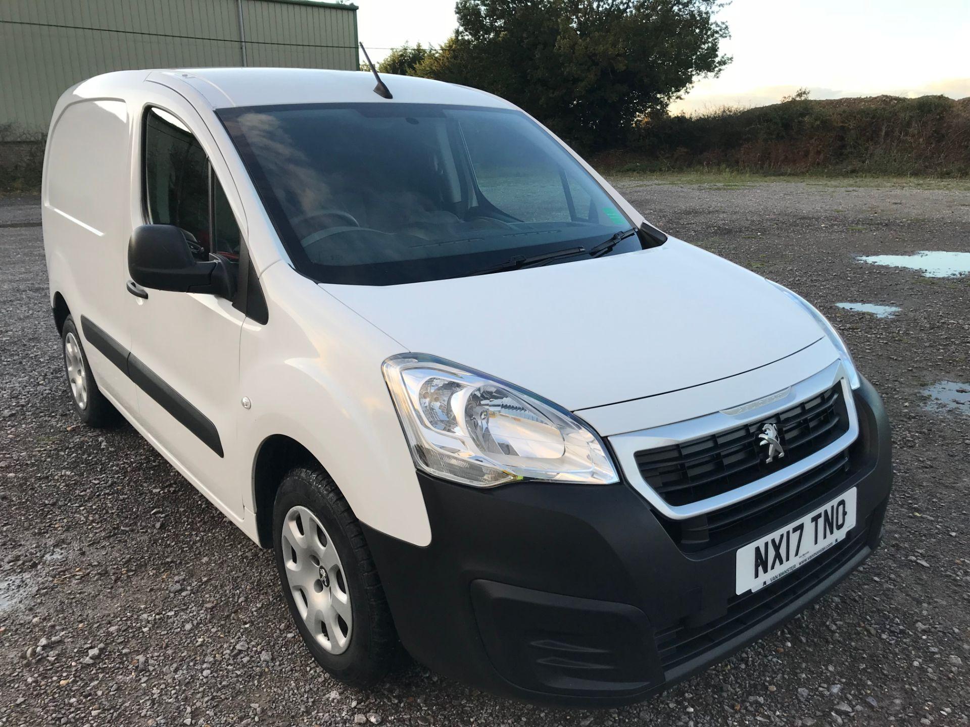 2017 Peugeot Partner 850 1.6 Bluehdi 100 Professional Van [Non Ss] (NX17TNO)