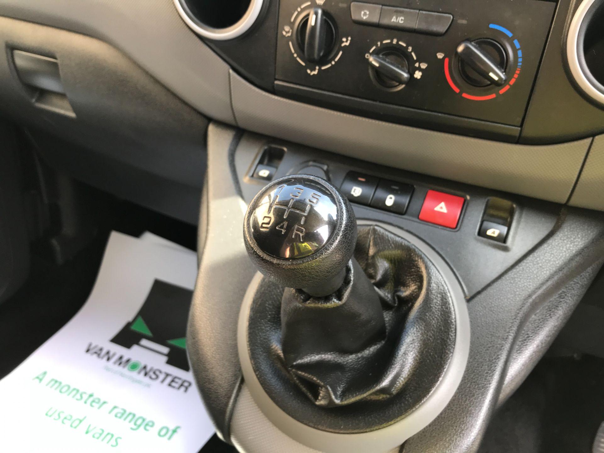 2017 Peugeot Partner L1 850 1.6BLUEHDI 100PS PROFESSIONAL EURO 6 (NX17TOH) Image 4