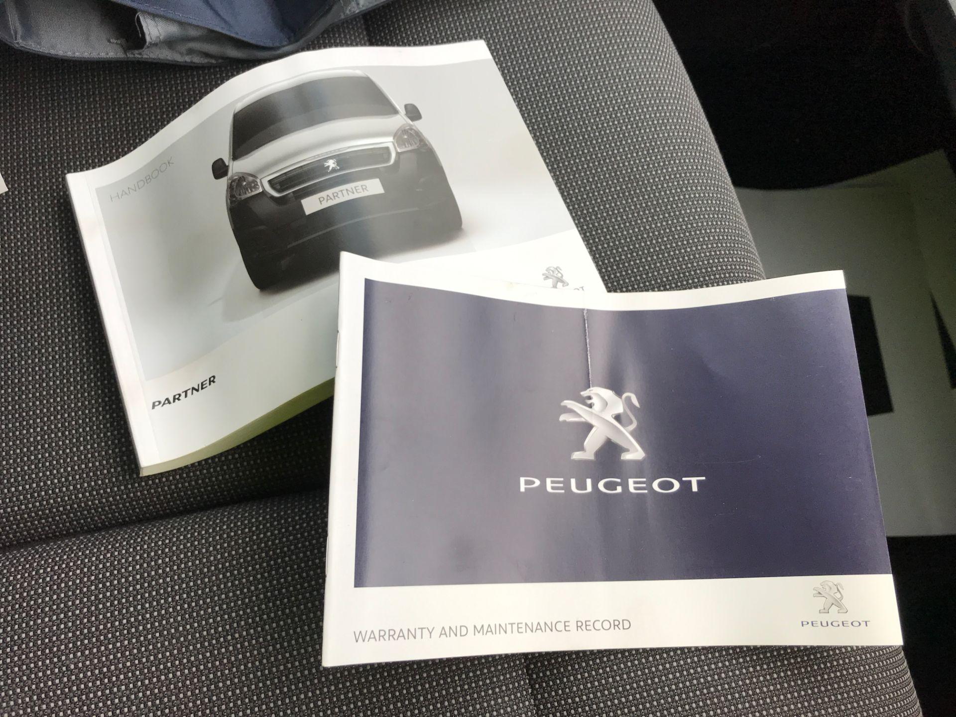 2017 Peugeot Partner L1 850 1.6BLUEHDI 100PS PROFESSIONAL EURO 6 (NX17TOJ) Image 26