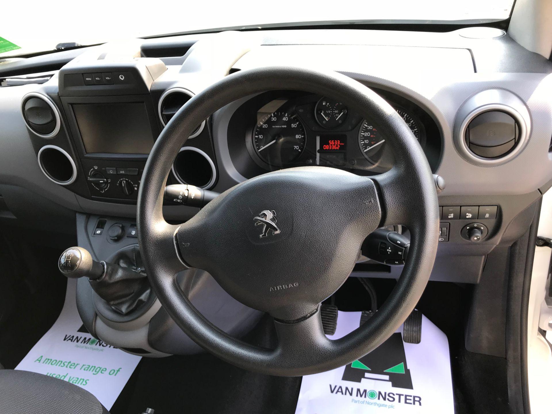 2017 Peugeot Partner 850 1.6 Bluehdi 100 Professional Van [Non Ss] (NX17TSV) Image 26