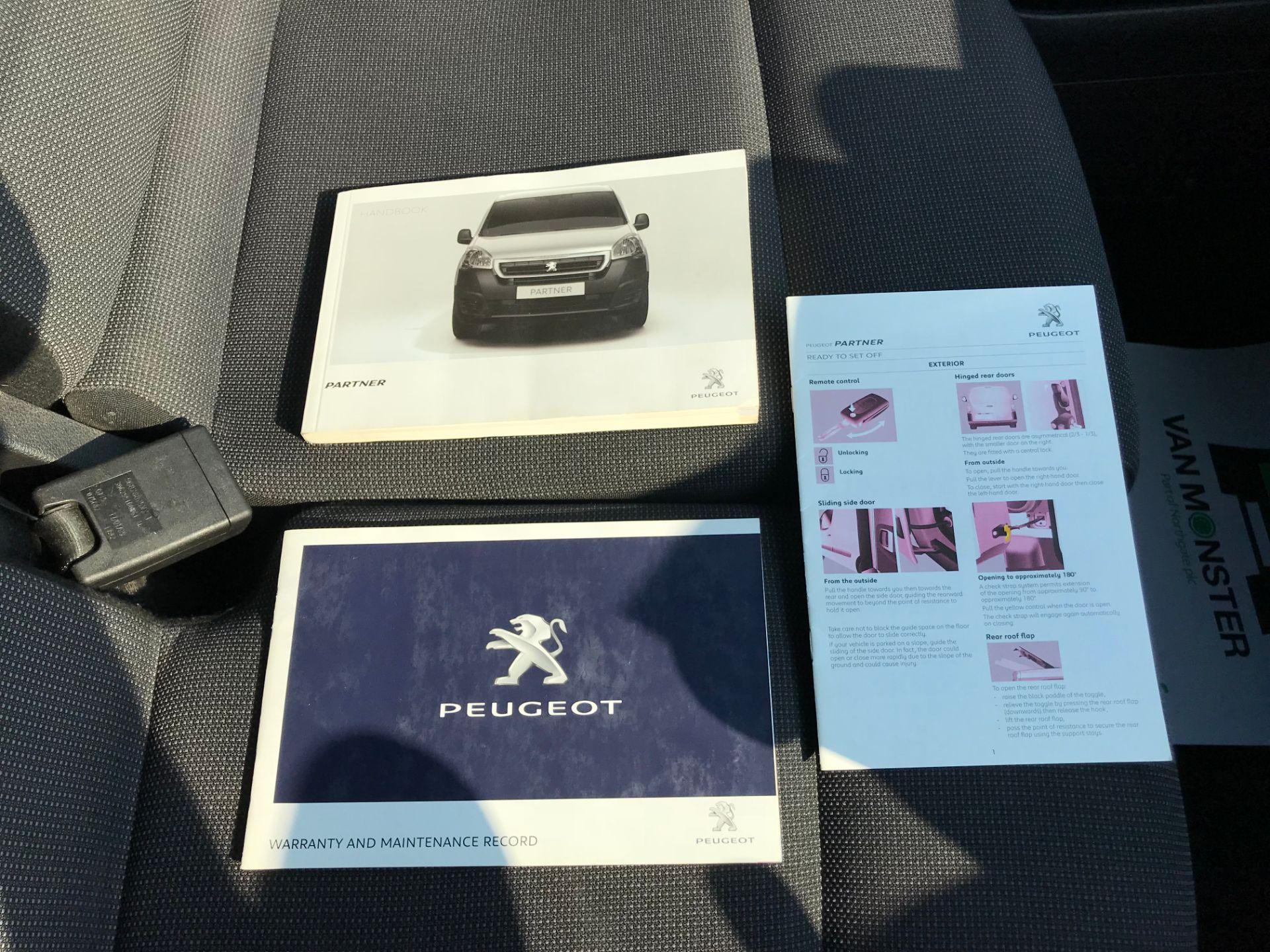 2017 Peugeot Partner 850 1.6 Bluehdi 100 Professional Van [Non Ss] (NX17TSV) Image 40