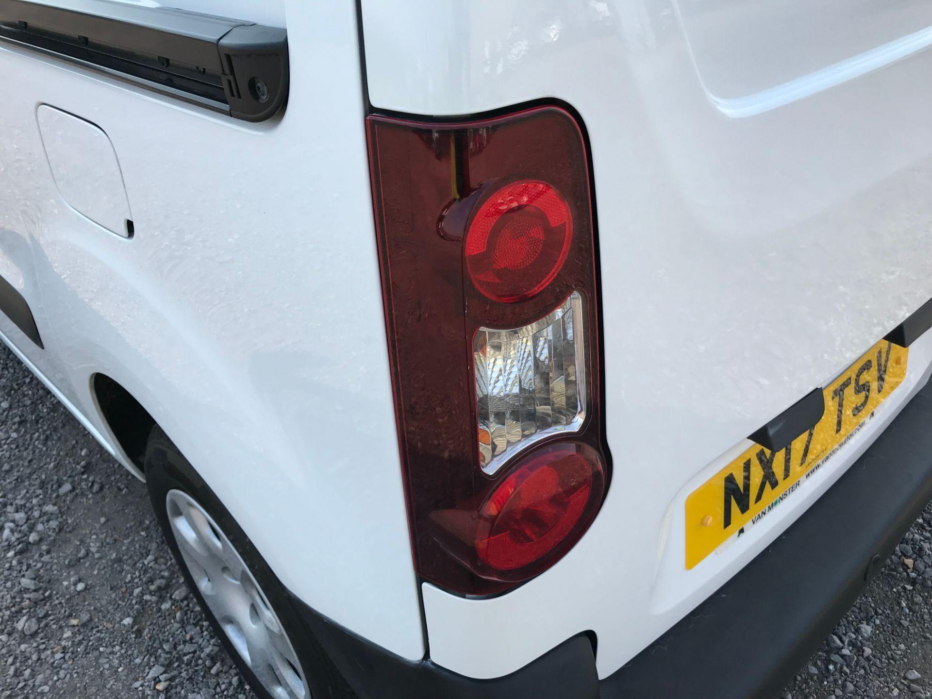 2017 Peugeot Partner 850 1.6 Bluehdi 100 Professional Van [Non Ss] (NX17TSV) Image 16