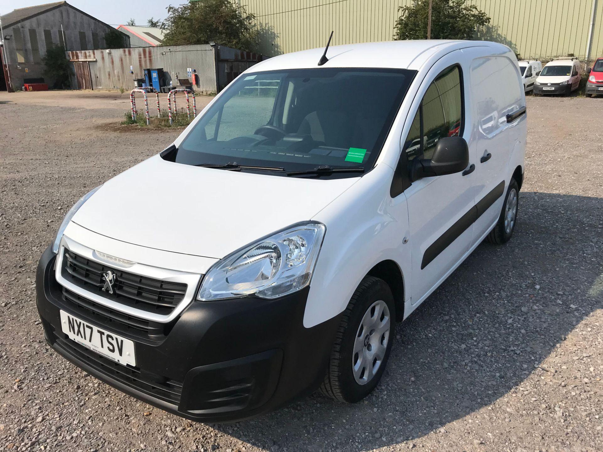 2017 Peugeot Partner 850 1.6 Bluehdi 100 Professional Van [Non Ss] (NX17TSV) Image 3
