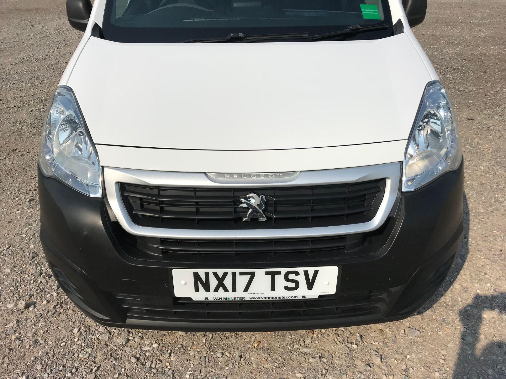 2017 Peugeot Partner 850 1.6 Bluehdi 100 Professional Van [Non Ss] (NX17TSV) Image 15