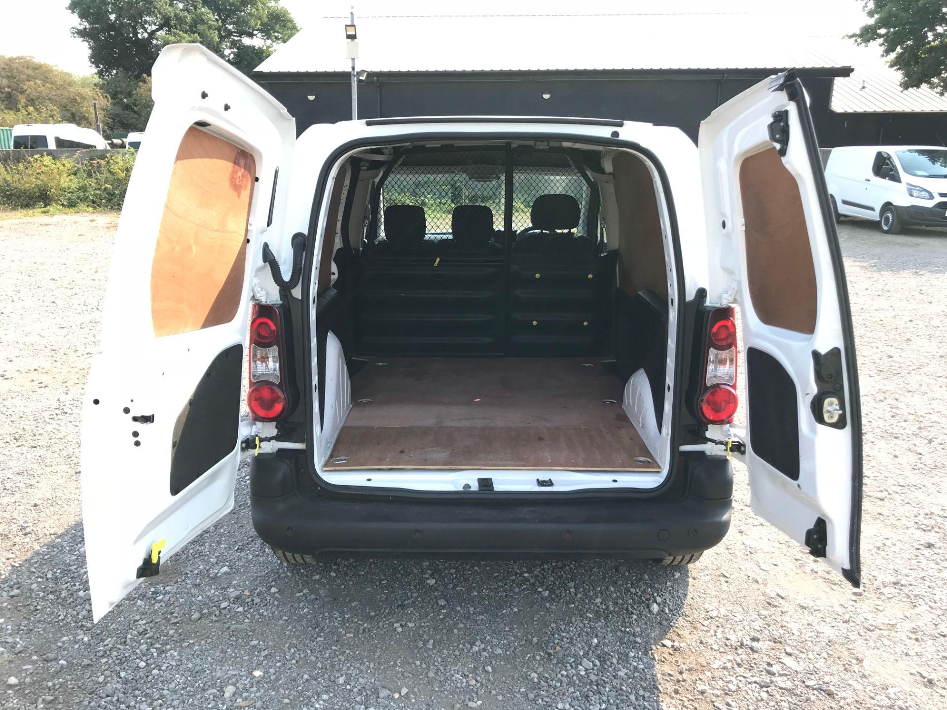 2017 Peugeot Partner 850 1.6 Bluehdi 100 Professional Van [Non Ss] (NX17TSV) Image 10
