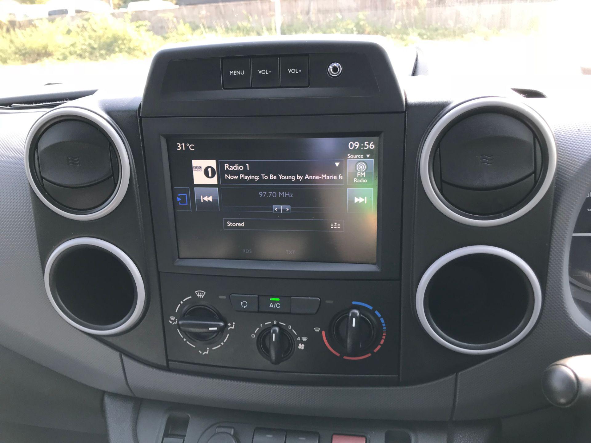2017 Peugeot Partner 850 1.6 Bluehdi 100 Professional Van [Non Ss] (NX17TSV) Image 28