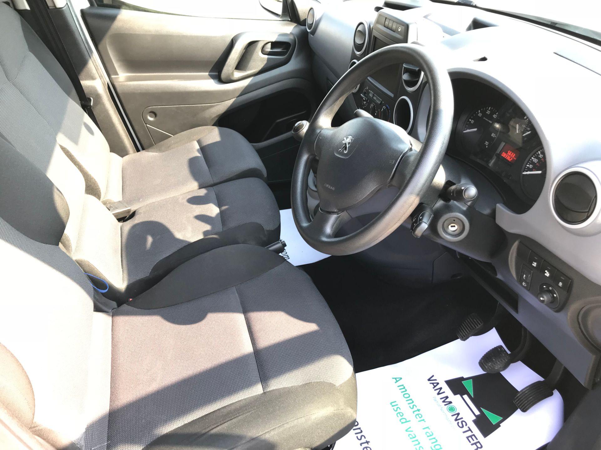 2017 Peugeot Partner 850 1.6 Bluehdi 100 Professional Van [Non Ss] (NX17TSV) Image 23