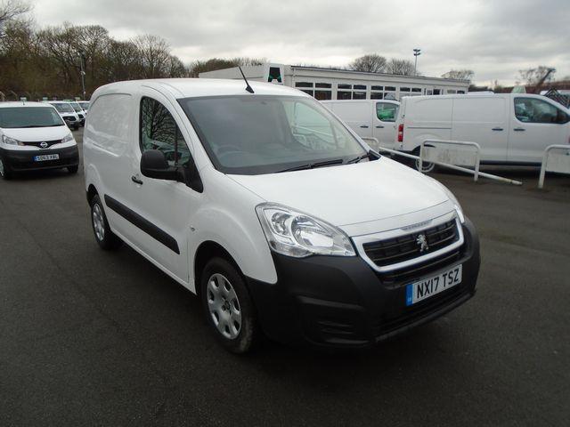 2017 Peugeot Partner 850 1.6 Bluehdi 100 Professional Van [Non Ss] (NX17TSZ)