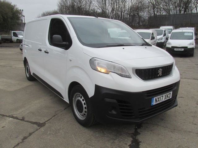 2017 Peugeot Expert 1000 1.6 Bluehdi 95 S Van (NX17XKO)
