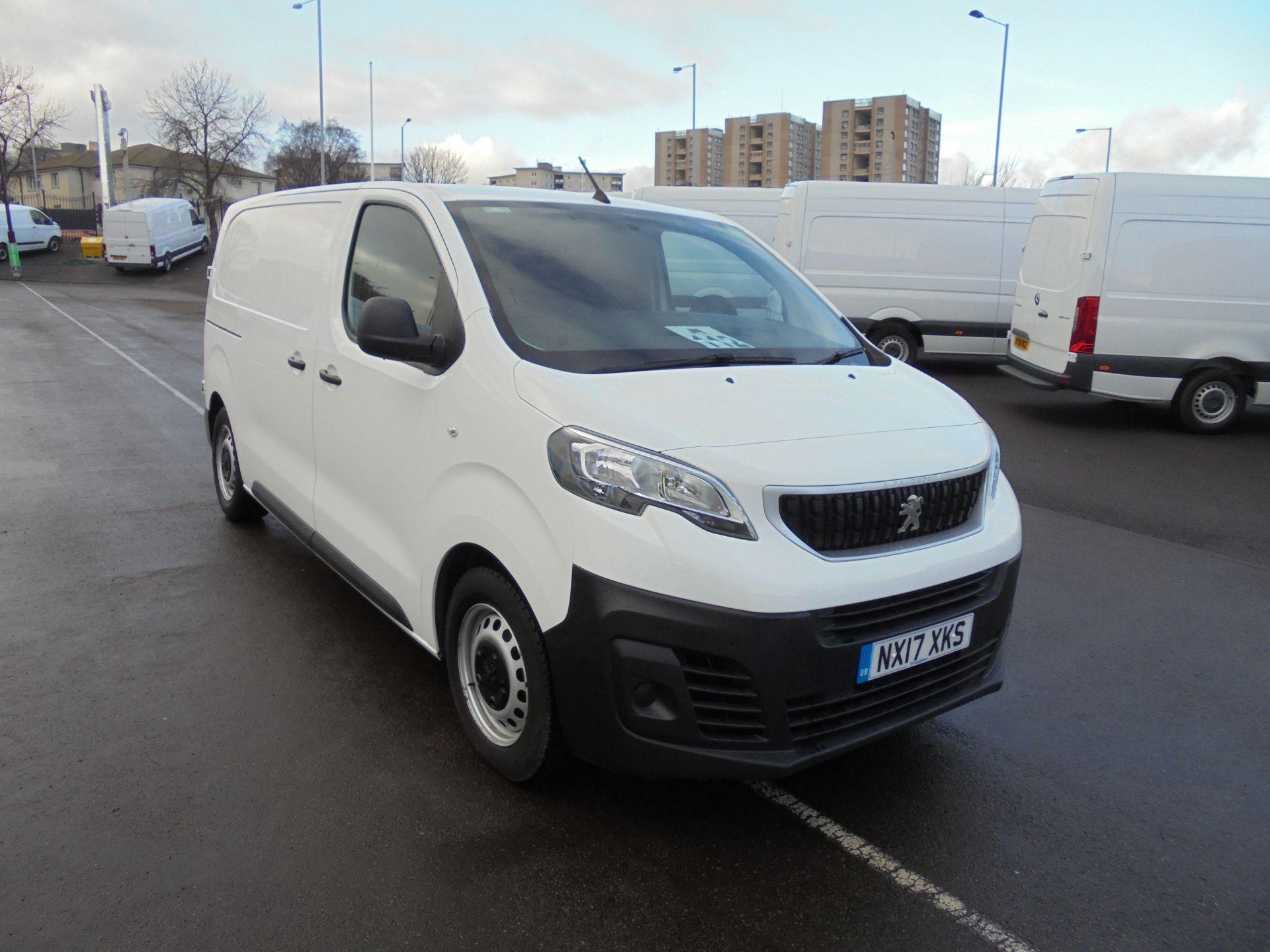 2017 Peugeot Expert 1000 1.6 Bluehdi 95Ps S Standard Van (NX17XKS)