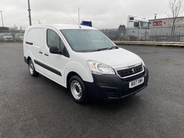 2017 Peugeot Partner 715 S 1.6 Bluehdi 100 Crew Van (NX17XMH)