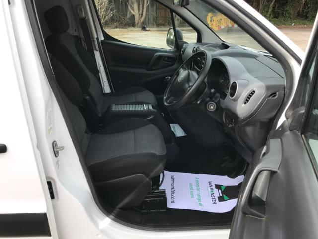 2017 Peugeot Partner 715 S 1.6 Bluehdi 100 Crew Van Euro 6 (NX17XMJ) Image 12