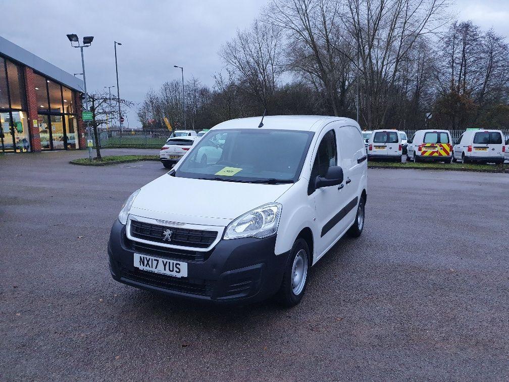 2017 Peugeot Partner 850 1.6 Bluehdi 100 Professional Van [Non Ss] (NX17YUS) Image 3