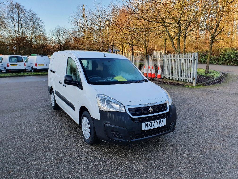 2017 Peugeot Partner 715 S 1.6 Bluehdi 100 Crew Van (NX17YVA)