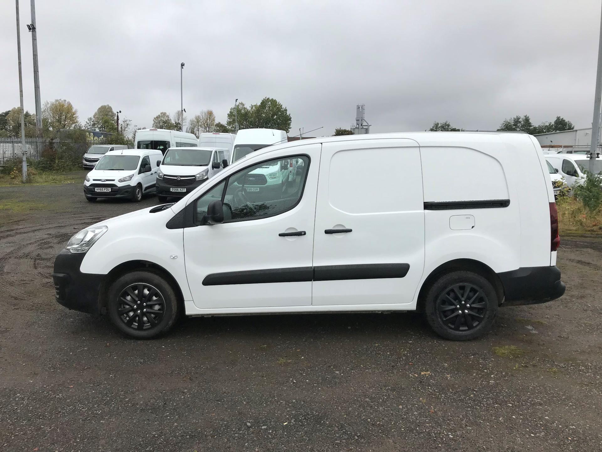 2017 Peugeot Partner 715 S 1.6 Bluehdi 100 Crew Van (NX17YVC) Image 4