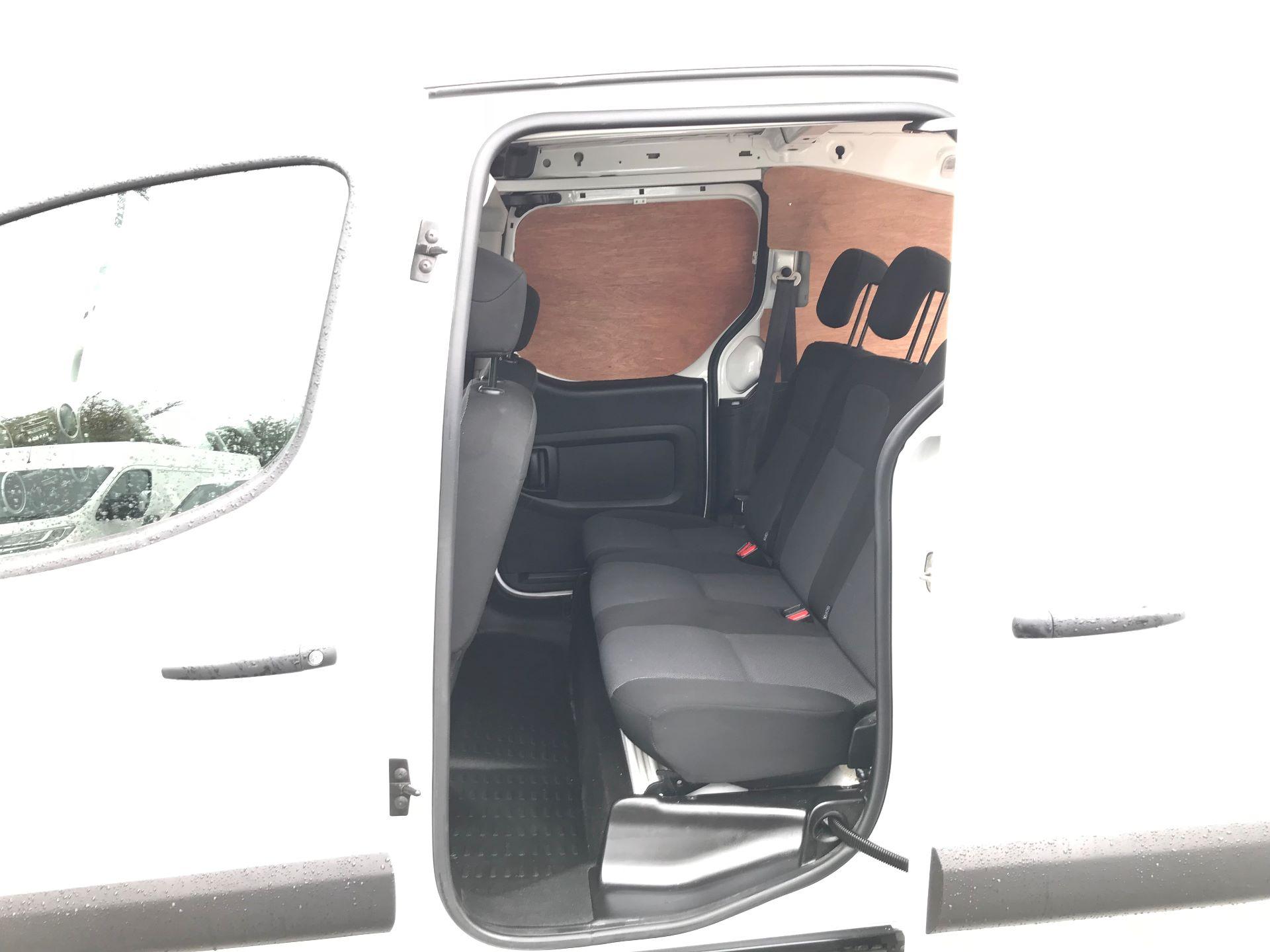 2017 Peugeot Partner 715 S 1.6 Bluehdi 100 Crew Van (NX17YVC) Image 17