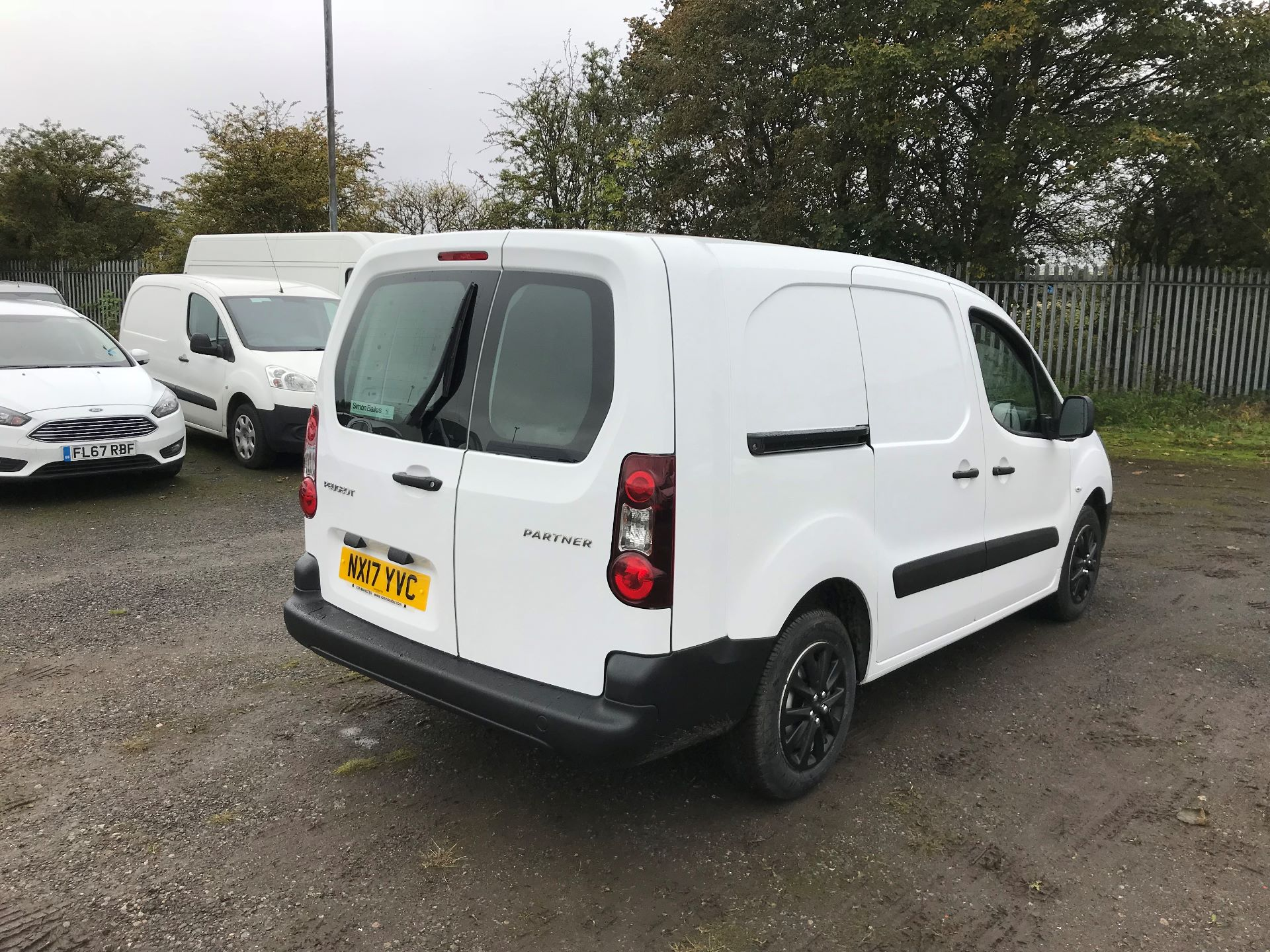 2017 Peugeot Partner 715 S 1.6 Bluehdi 100 Crew Van (NX17YVC) Image 7